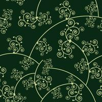 floral pattern background, vector Illustration.