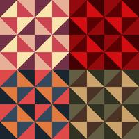 padrão decorativo. ilustração de cor diferente option.vector