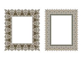 square elegant frame.. Vector Illustration.