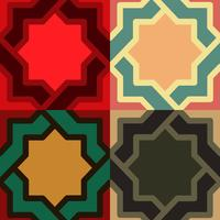 decorative pattern. different color option.vector illustration