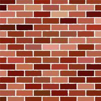 brick wall Vector illustration background - texture pattern for continuous replicate.