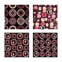 Fond de texture de fibre de carbone or - Illustration vectorielle