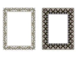 vierkante elegante frame ... Vectorillustratie.
