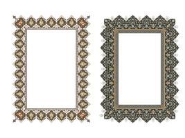 Quadro elegante quadrado ... ilustração vetorial.
