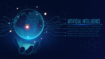 Concepto de inteligencia artificial