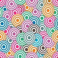 Circular colorful background vector