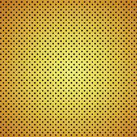 Priorità bassa di struttura della fibra del carbonio dell'oro - illustrazione di vettore