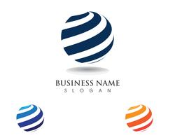 Global technology logos communication