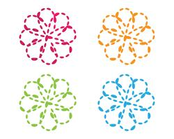 Molekül Unendlichkeit Illustration Vektor