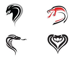 viper snake logo design element. danger snake icon. viper symbol