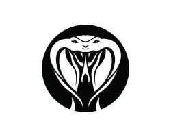elemento di design logo vipera serpente. icona di pericolo serpente. simbolo della vipera