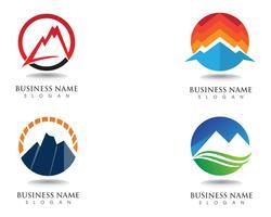 Berglogo en symbolen
