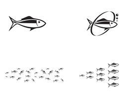 poissons fond de vecteurs