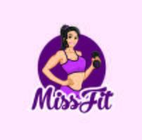 Fitness mulheres personagem logotipo mascote desenhos