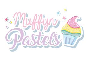 Muffin punchy pastels