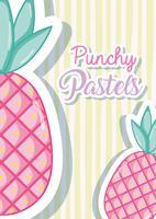 Punchy pastel concept branché