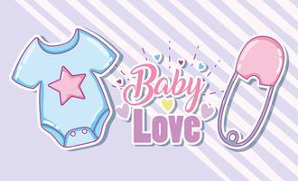 Baby-Liebeskarte