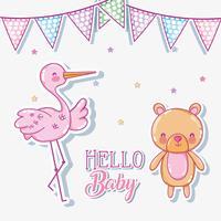 Cartão de bebê