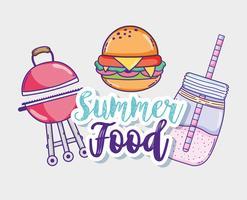 Foood e succo d'estate