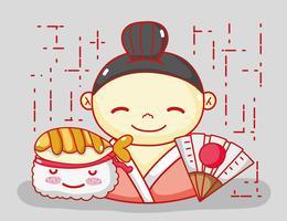 Japoneses enamorados de la comida