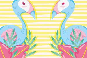 Punchy pastel flemishes