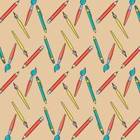 utensílios de escola para wrating e pintar o plano de fundo