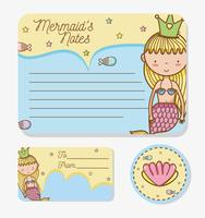 Mermaids printable sheet