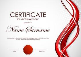 211971 Certificate of achievement template