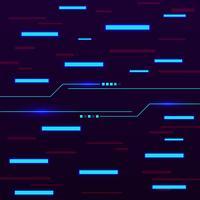 Abstract geometric shape, high tech technology digital concept background vector