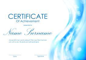 211420 Certificate of achievement template