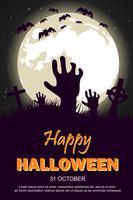 Cartaz feliz do Dia das Bruxas