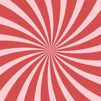 Bright pink abstract swirling radial pattern background