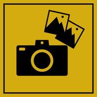 Retro kamera ikon