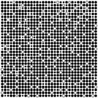 Monochrome minimal background with black and white dots vector