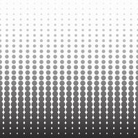 Halftone monochrome pattern vertical background