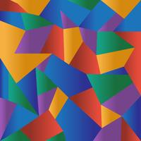 Abstract colorful polygonal mosaic background