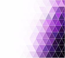 Fondo de mosaico de rejilla púrpura, plantillas de diseño creativo