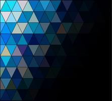 Blue Square Grid Mosaic Background, Creative Design Templates