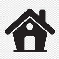 Icono de inicio símbolo de signo