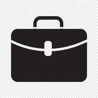 Icono maletín signo símbolo