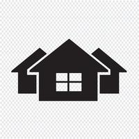 House icon symbol tecken