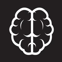 Brain icon  symbol sign