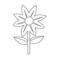 Blumen Symbol Symbol Zeichen