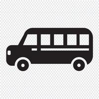 segno di simbolo dell'icona dell'automobile
