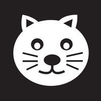 segno di simbolo dell'icona del gatto