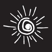 Sol, símbolo, sinal símbolo
