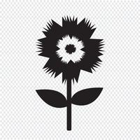 Flower icon  symbol sign