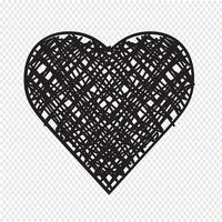 Heart Icon  symbol sign vector