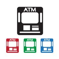 Atm pictogram symbool teken