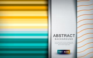 Abstract colored background with overlap layer and texture shape decoration